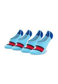 TOMMY HILFIGER - Tommy Hilfiger Zestaw 2 par stopek dziecięcych 394001001 Niebieski. Kolor: niebieski