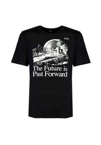 T-shirt Diesel z nadrukiem, na co dzień