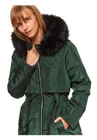 Zielona kurtka TOP SECRET na zimę