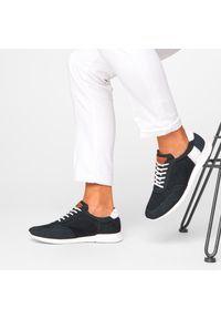 Niebieskie sneakersy Krisbut z cholewką, na co dzień