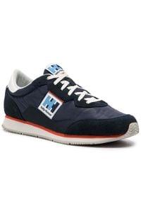 Helly Hansen - Sneakersy HELLY HANSEN - Ripples Low-Cut Sneaker 114-81.597 Navy/Off White/Cherry Tomato. Okazja: na co dzień. Kolor: niebieski. Materiał: zamsz, materiał, skóra ekologiczna. Szerokość cholewki: normalna. Styl: casual, sportowy, elegancki