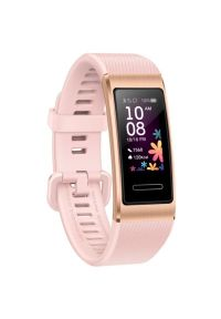 Różowy zegarek HUAWEI cyfrowy