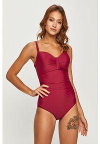 Fioletowy strój kąpielowy Aqua Speed z fiszbinami