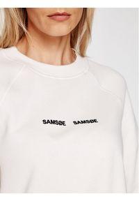 Samsoe & Samsoe - Samsøe Samsøe Bluza Barletta F19218100 Beżowy Relaxed Fit. Kolor: beżowy
