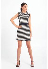 Sukienka Marella mini, prosta, z aplikacjami
