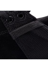 Czarne sneakersy Supra z cholewką, na co dzień