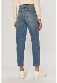 Niebieskie jeansy loose fit Vero Moda z podwyższonym stanem