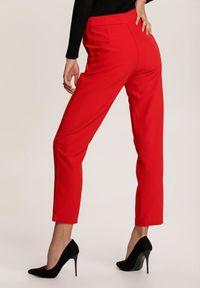 Czerwone spodnie materiałowe Renee