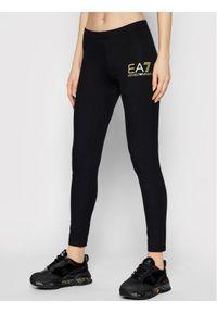 Czarne legginsy EA7 Emporio Armani