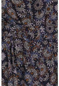 Answear Lab - Sukienka. Okazja: na co dzień. Kolor: niebieski. Materiał: tkanina. Typ sukienki: proste. Styl: wakacyjny