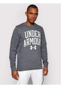 Under Armour Bluza Rival Terry Crew 1361561 Szary Loose Fit. Kolor: szary