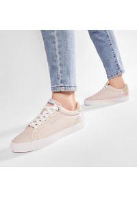 Pepe Jeans - Sneakersy PEPE JEANS - Kenton Supra PLS31172 Pale Pink 300. Okazja: na co dzień. Kolor: różowy. Materiał: skóra ekologiczna. Szerokość cholewki: normalna. Styl: casual