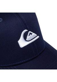 Quiksilver - Czapka z daszkiem QUIKSILVER - AQYHA04002 BYJH. Kolor: niebieski. Materiał: materiał, bawełna, poliester