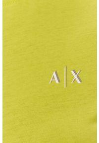 Sukienka Armani Exchange z krótkim rękawem, na co dzień, z nadrukiem, casualowa