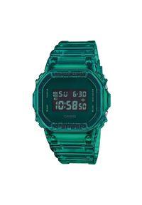 G-Shock Zegarek DW-5600SB-3ER Zielony. Kolor: zielony