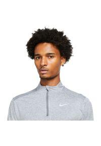 Bluza do biegania męska Nike Dri-FIT Element DD4756. Materiał: skóra, materiał, poliester. Technologia: Dri-Fit (Nike). Długość: krótkie. Wzór: gładki