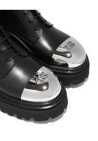 Casadei - CASADEI - Wysokie trapery Generation X. Wysokość cholewki: przed kolano. Kolor: czarny. Materiał: guma. Szerokość cholewki: normalna