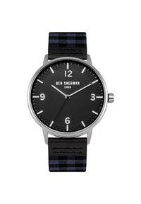 Czarny zegarek Ben Sherman