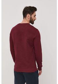 Brązowa bluza nierozpinana Lyle & Scott z aplikacjami, casualowa, bez kaptura, na co dzień