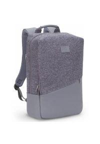 Szary plecak na laptopa RIVACASE młodzieżowy