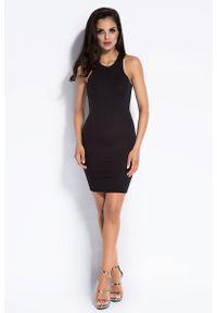 Czarna sukienka Dursi mini