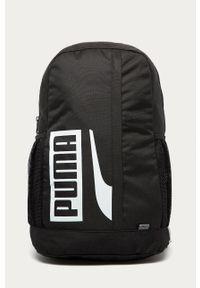 Czarny plecak Puma z nadrukiem