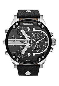 Czarny zegarek Diesel cyfrowy