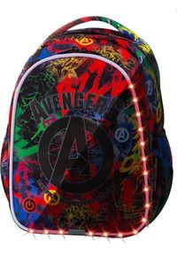 Patio Plecak szkolny Joy S Led Avengers (B47307). Wzór: motyw z bajki