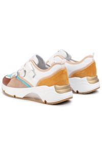 Białe buty sportowe Togoshi z cholewką, na co dzień