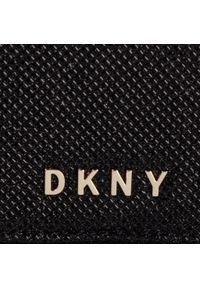 Czarna torebka klasyczna DKNY klasyczna, lakierowana