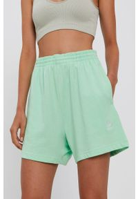 adidas Originals - Szorty. Stan: podwyższony. Kolor: zielony. Materiał: tkanina, bawełna
