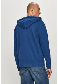 Levi's® - Levi's - Bluza bawełniana. Okazja: na spotkanie biznesowe, na co dzień. Kolor: niebieski. Materiał: bawełna. Wzór: gładki. Styl: casual, biznesowy