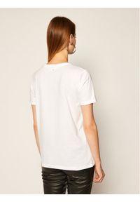 Biały t-shirt Calvin Klein