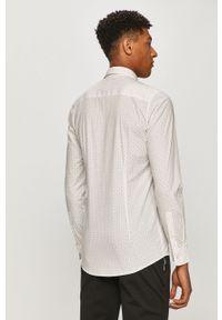 Biała koszula Only & Sons długa, z długim rękawem