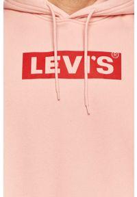 Levi's® - Levi's - Bluza. Okazja: na spotkanie biznesowe, na co dzień. Kolor: różowy. Styl: casual, biznesowy
