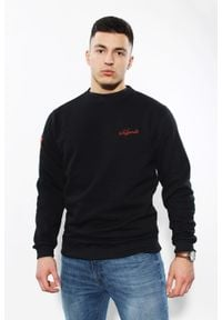 Edward Orlovski - Bluza Classic Black. Materiał: bawełna