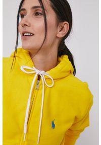 Polo Ralph Lauren - Bluza. Okazja: na co dzień. Typ kołnierza: polo. Kolor: żółty. Styl: casual #3