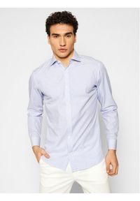 Jack&Jones PREMIUM Koszula Blaroyal 12185316 Niebieski Slim Fit. Kolor: niebieski