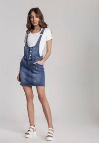 Renee - Niebieska Spódnica Vivisea. Kolor: niebieski