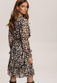 Renee - Czarna Sukienka Prisesh. Kolor: czarny