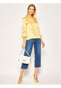 Pennyblack Bluzka Elica 11111020 Żółty Regular Fit. Kolor: żółty