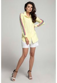 Żółta koszula Nommo długa