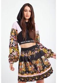 Versace Jeans Couture - BLUZA VERSACE JEANS COUTURE. Typ kołnierza: kaptur