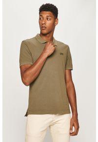 Zielona koszulka polo Levi's® polo, z aplikacjami, biznesowa