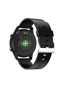 Czarny zegarek Media-Tech sportowy, smartwatch