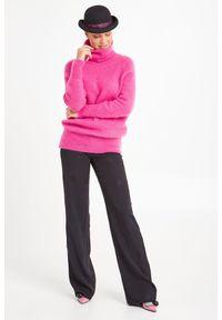 Sweter Emporio Armani biznesowy, z golfem, do pracy