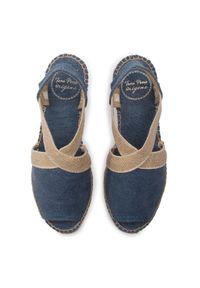 Niebieskie sandały Toni Pons na co dzień, casualowe