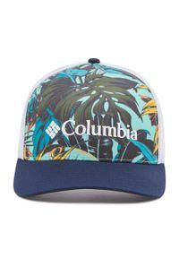 columbia - Czapka z daszkiem COLUMBIA - Punchbowl Trucker 1934421 Tropic Water Toucanical Print 360. Materiał: materiał, poliester. Wzór: nadruk