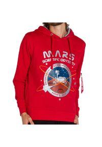 Alpha Industries - ALPHA INDUSTRIES MISSION TO MARS HOODIE > 126330328. Materiał: materiał, poliester, bawełna. Wzór: aplikacja. Styl: elegancki, klasyczny