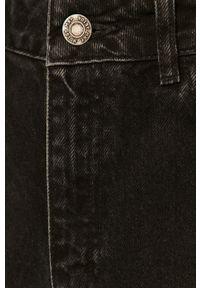 Czarne jeansy loose fit Noisy may